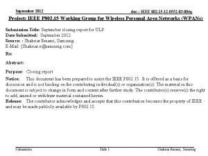 September 2012 doc IEEE 802 15 12 0552