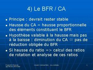 4 Le BFR CA n n Principe devrait