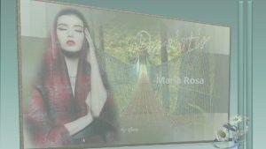 Maria Rosa Aquele que persiste sempre chegar ao