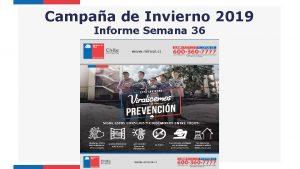 Campaa de Invierno 2019 Informe Semana 36 Vigilancia
