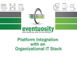 Create Collaborate Manage Integrate Platform Integration with an
