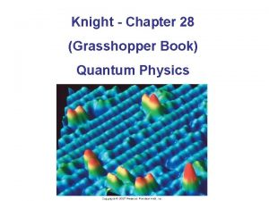 Knight Chapter 28 Grasshopper Book Quantum Physics Blackbody
