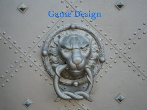 Game Design Why study game design in CS