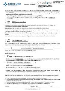 Centro de atencin telefnica 900 101 809 HORARIO