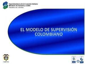 Superintendencia de la Economa Solidaria Ministerio de Hacienda