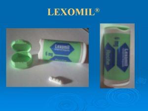 LEXOMIL INTRODUCTION mdicament de laboratoires Roche dlivr uniquement