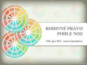 RODINN PRVO PODLE NOZ Pd F jaro 2013