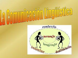 EL ACTO COMUNICACIN Transmisin intencionada de un mensaje