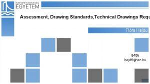 Assessment Drawing Standards Technical Drawings Requ Flra Hajdu
