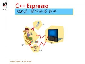 C Espresso 2 2009 All rights reserved 2