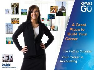 A Great Place to Build Your Career The