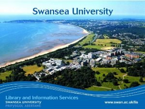 www swan ac uklis SWISLite Swansea When eduroam