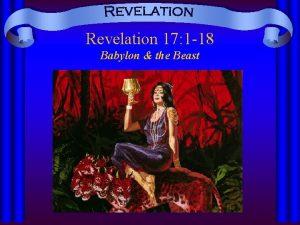 Revelation 17 1 18 Babylon the Beast Revelation