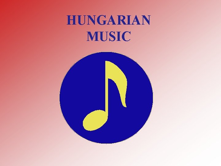 HUNGARIAN MUSIC BLA BARTK Bla Bartk was born