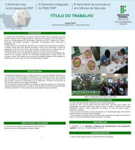 TTULO DO TRABALHO Leandro Carbo 1 1 Instituto