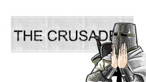 Crusade means Way of the Cross A series