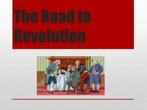 The Road to Revolution A http www wordle
