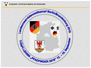 Kommando Territoriale Aufgaben der Bundeswehr Kommando Territoriale Aufgaben