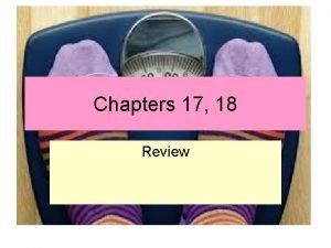 Chapters 17 18 Review Der Innere Schweinehund The