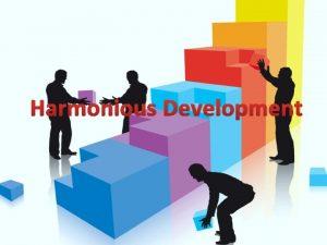 Harmonious Development Genesis 1 26 As man came