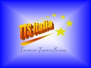 TTS Italia Workshop Tecnologie e Sistemi Intelligenti made