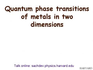 Quantum phase transitions of metals in two dimensions