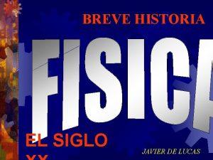 BREVE HISTORIA EL SIGLO JAVIER DE LUCAS 1925