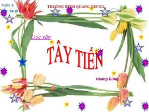 Tun 5 TRNG PTTH QUANG TRUNG Tit 19