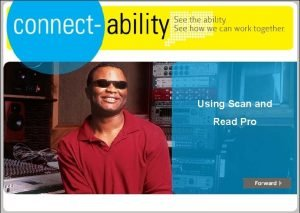 Using Scan and Read Pro CTWorks Assistive Technology