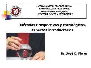 UNIVERSIDAD FERMN TORO ViceRectorado Acadmico Decanato de Postgrado