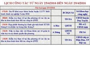 LCH CNG TC T NGY 2542016 N NGY