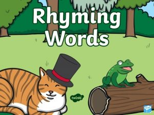 Match the Rhyming Words Can you match the