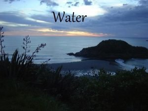 Water water cycle Evaporation Heat energy from the