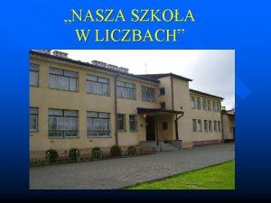 NASZA SZKOA W LICZBACH Publiczne Gimnazjum im Stanisawa