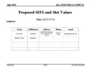 July 2012 doc IEEE 802 11 120817 r
