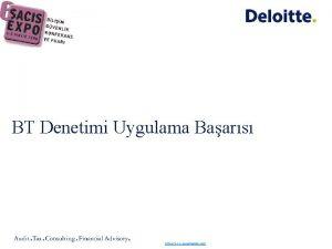 BT Denetimi Uygulama Baars http www sonofnights com