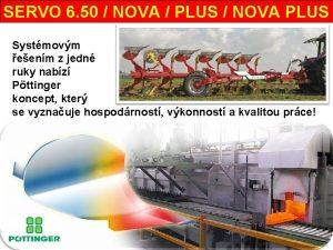 SERVO 6 50 NOVA PLUS NOVA PLUS Systmovm