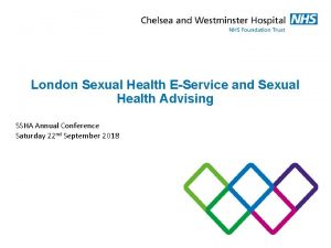London Sexual Health EService and Sexual Health Advising