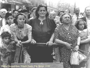 Walter Rosenblum Block Party Pitt Street 1938 I