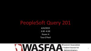 People Soft Query 201 442019 3 30 4