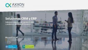Soluciones CRM y ERP Soluciones empresariales personalizadas y