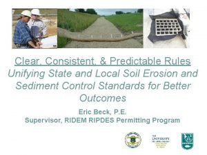 Clear Consistent Predictable Rules Unifying State and Local