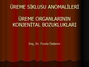 REME SKLUSU ANOMALLER REME ORGANLARININ KONJENTAL BOZUKLUKLARI Do