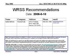 May 2006 doc IEEE 802 11 06 0762