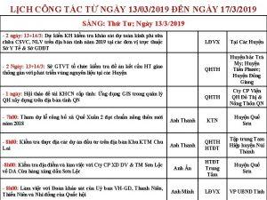 LCH CNG TC T NGY 13032019 N NGY