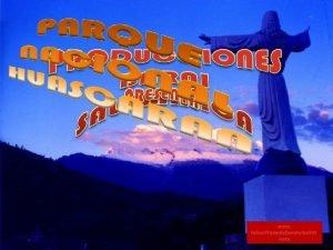 www laboutiquedelpowerpoint com Parque Nacional Huascarn Este parque