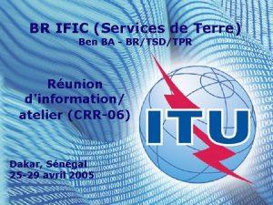 BR IFIC Services de Terre Ben BA BRTSDTPR