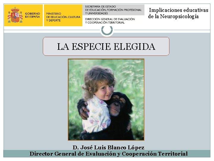 Implicaciones educativas de la Neuropsicologa LA ESPECIE ELEGIDA