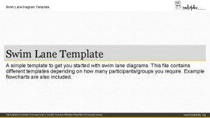 Swim Lane Diagram Template Swim Lane Template A