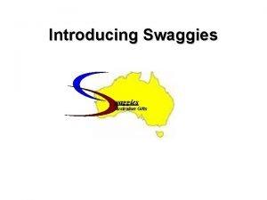 Introducing Swaggies Australian Gifts waggies Australian Gifts What